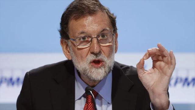 Rajoy: Ni puedo ni quiero autorizar el referéndum de Cataluña