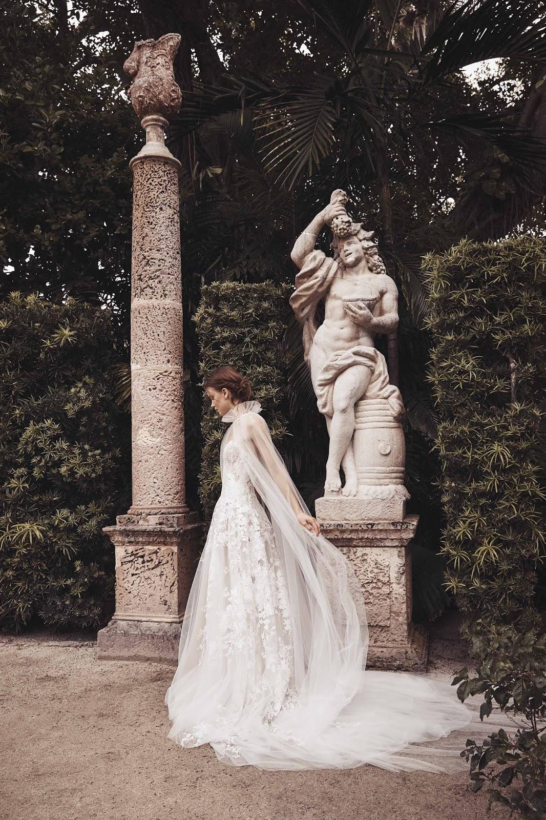 Lush Advent Calendar 2020 Monique Lhuillier Bridal Spring 2020   A Lush Collection Designed