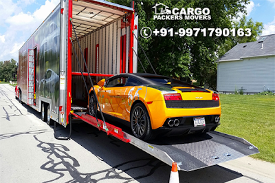 Safe Car Transportation Services by Cargo Packers Movers