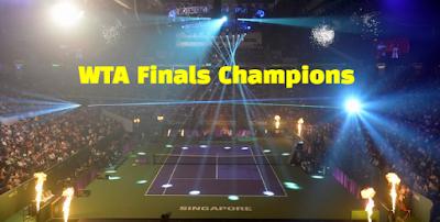 wta tour championships, wta finals, winners, champions, list.