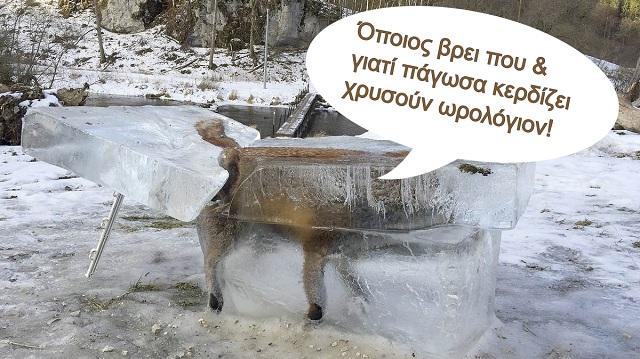 Τα… 'αξιόπιστα' ΜΜΕ και η παγωμένη αλεπού!