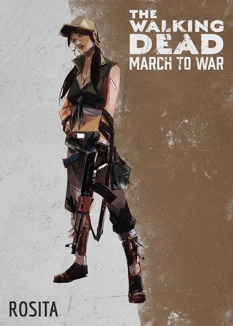 The Walking Dead: March to War - Rosita