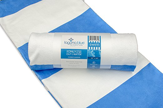 laguna blue a bacteria resistant towel
