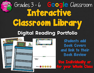 Have students create a classroom library of books read - with student book reviews!