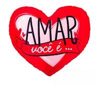 Almofada Porta Pipoca Amar Você Amor Coração