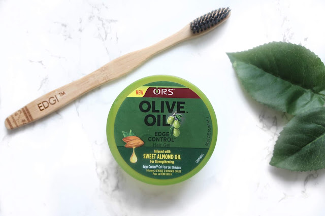 My Combo for Sleek Edges - EDGI Brush + ORS Olive Oil Edge Control | HairliciousInc.com
