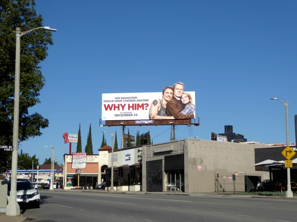 Why Him film billboard