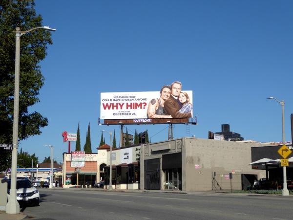 Why Him film billboard