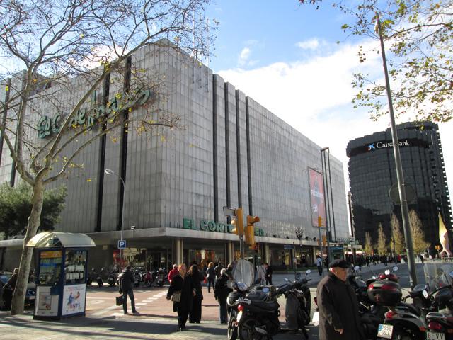 sklepy w Barcelonie El corte ingles