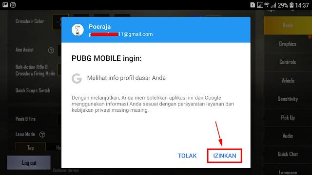Cara Membuat Agar Akun PUBG Mobile Tidak Hilang 24