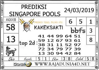 Prediksi Togel SINGAPORE DUNIA4D 24 MARET 2019