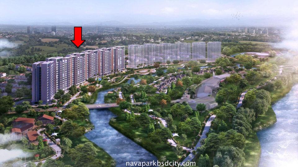 Apartemen Marigold Navapark BSD Tower Ke-3