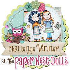 Winner at Paper Nest Dolls