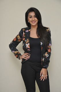 Actress Nikki Galrani Latest Pictures in Floral Jacket  0001