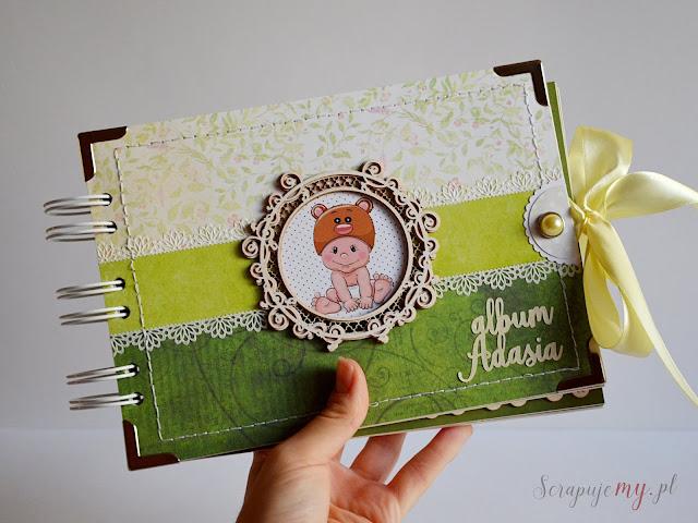 Album na chrzest, prezent dla dziecka, album dla dziecka, zdjęcia dziecka
