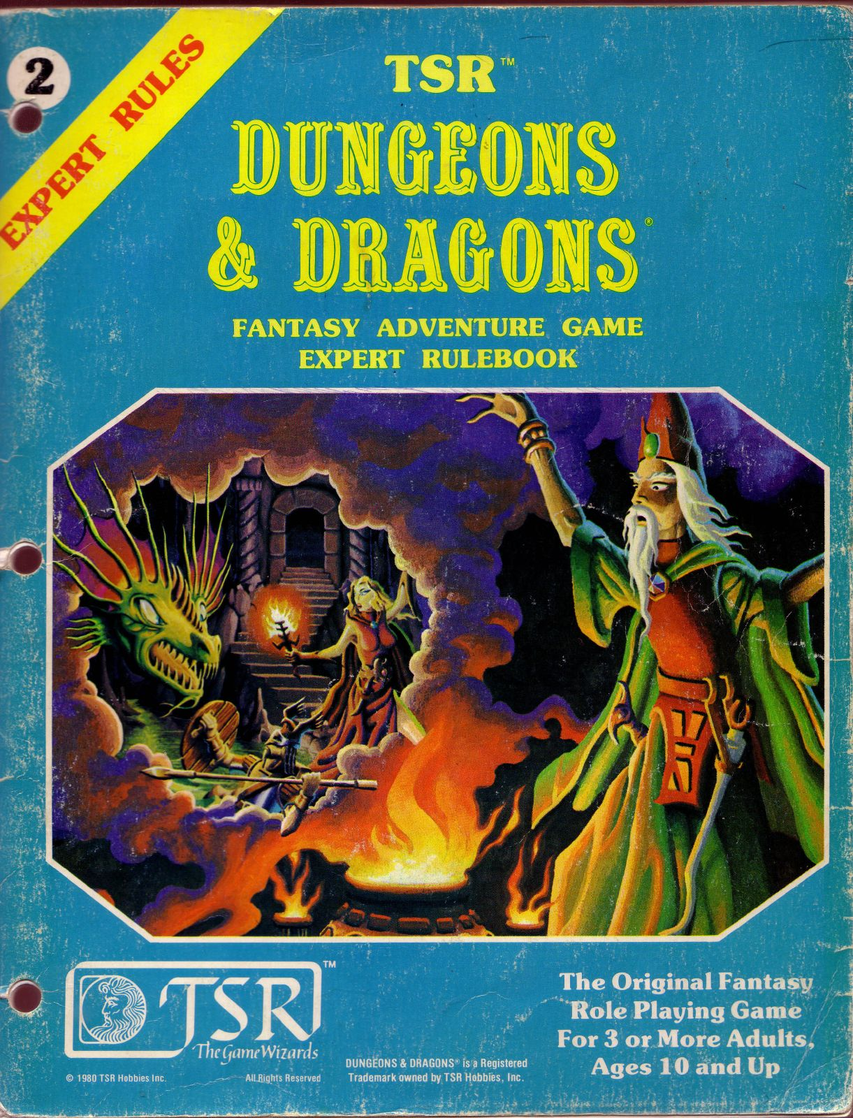 dungeons and dragons game books