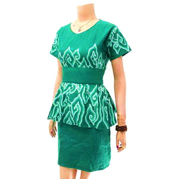 Batik Tulis Dress: Dress Wanita Batik Solo