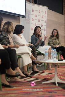 Irene de @soyunamadre normal hablando en el evento redmadre Madrid 8 Mayo