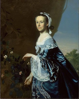 """Mercy Otis Warren"" by John Singleton Copley, 1763"