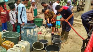 KORPRI Distribusikan 6 Tanki Air Bersih
