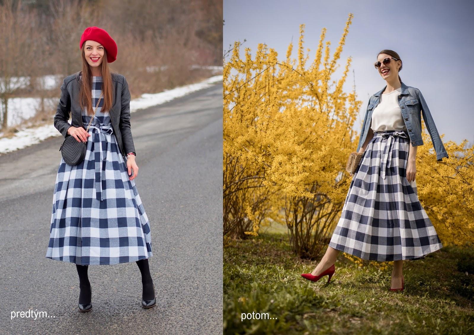 c257625d35e2 Mademoiselle IVA by Ivana Klepáčová  refashion  ľanová midi sukňa ...