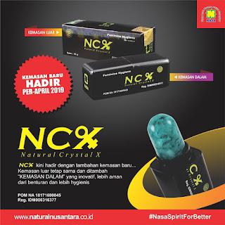 ncx kemasan crystalx terbaru