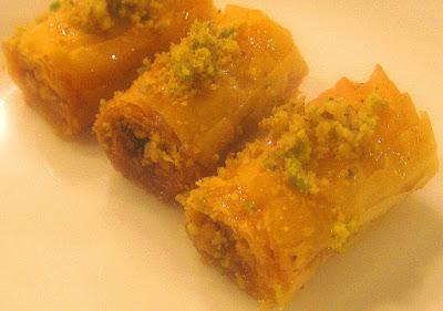 Easy To Make Lebanese Baklava Rolls Recipe