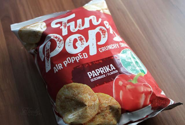 Die neuen FunPop's Paprika aus Kichererbsen und Kartoffeln.