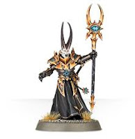 warhammer age of sigmar chaos sorcerer lord model painted
