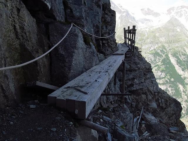 trudności na Tour Monte Rosa