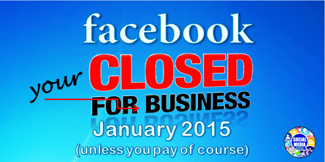 Facebook closed for your business