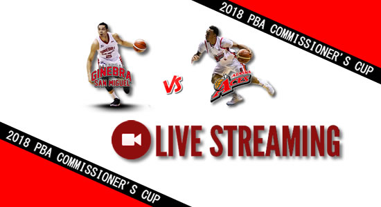 Livestream List: Ginebra vs Alaska June 24, 2018 PBA Commissioner's Cup