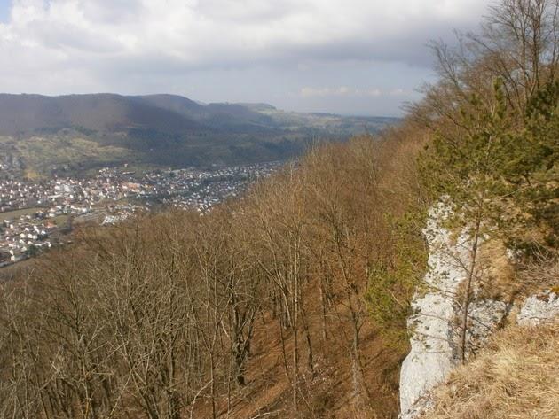 Die Schwabische Alb Und Ihre Natur Aussichtspunkt Kuhfels Am Rand