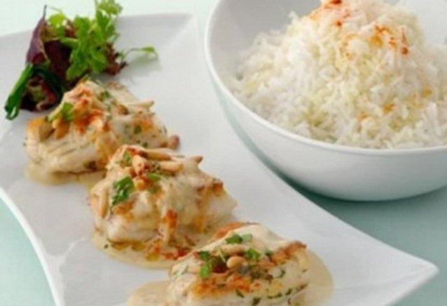 طاجين السمك المغربي بالطحين