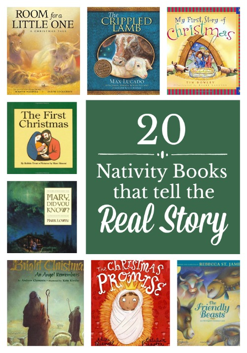 20 Nativity Books that tell the Real Story