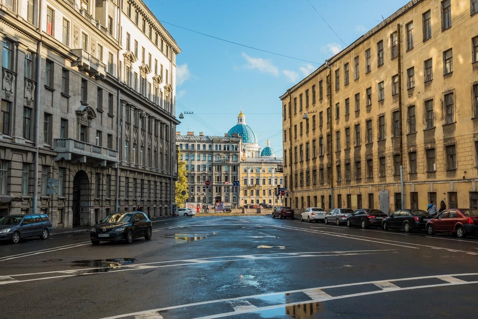 Питерские улочки
