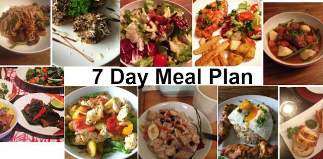 candida 7 day meal plan