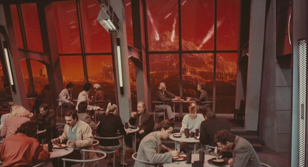 Mars colony - Total Recall 1990 movie image