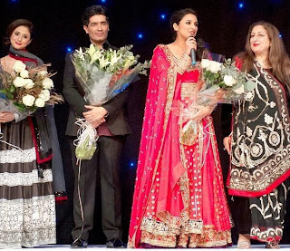 Parineeti Chopra and Urmila on the ramp for the Angeli Foundation