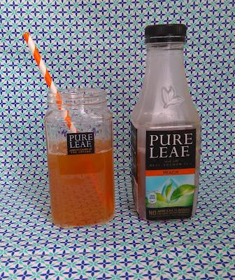 thé glacé, Pure Leaf, thé, boisson, bullelodie
