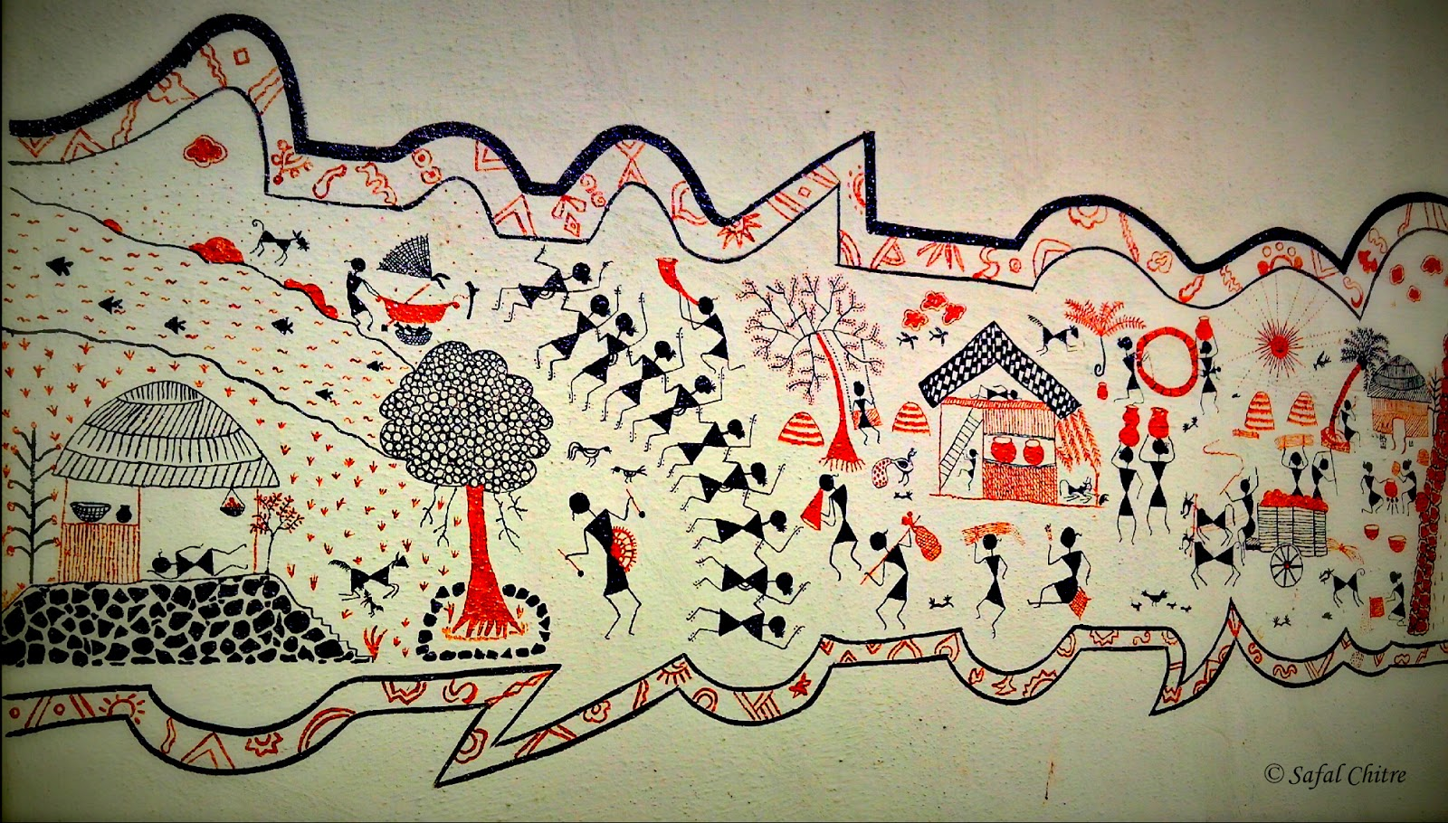 SAJAVAT: Safal Chitre - A talented Warli Artist