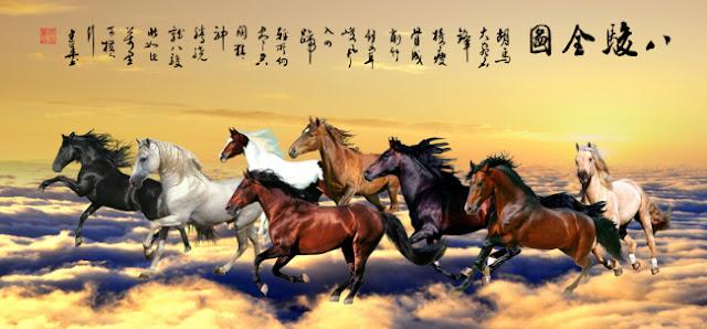Tranh Ngựa PSD