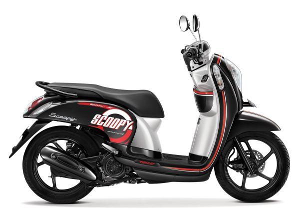 Honda Scoopy eSP warna Metro%2BBlack