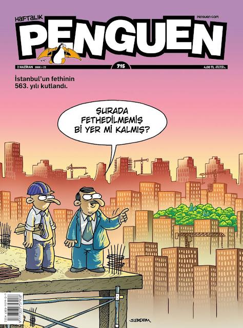 Penguen Dergisi - 2 Haziran 2016 Kapak Karikatürü
