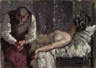 Peinture de Walter Sickert représentant le meurtre de Camden Town