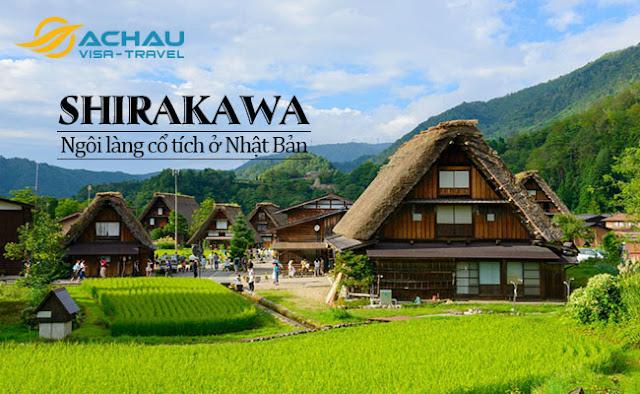 Ngôi làng được ví như làng cổ tích ở Nhật Bản