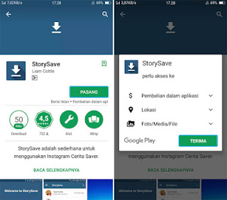 Cara Download Video Dari Instagram Stories