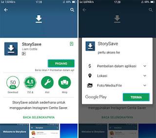 Cara Download Video Dari Instagram Stories
