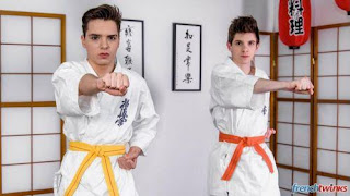 Karate Twinks – Abel Lacourt and William Lefort