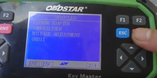 Select IMMOBILISER
